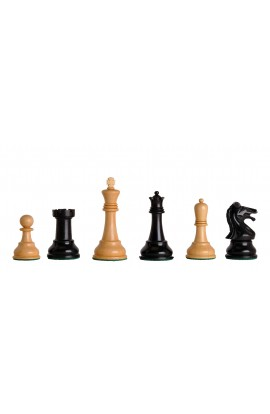 "Reproduction of the Drueke Players Choice Chess Pieces - 3.75"" King"