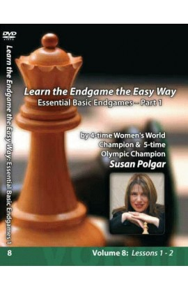 E-DVD WINNING CHESS THE EASY WAY - VOLUME 8 - Essential Basic Endgames - PART 1