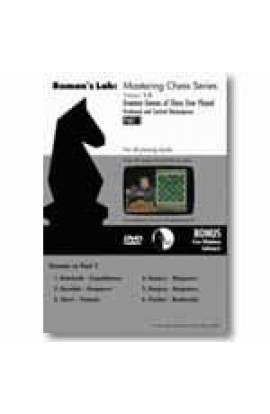 E-DVD ROMAN'S LAB - VOLUME 10 - Greatest Games of Chess Ever Played - PART 1