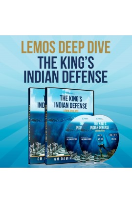 E-DVD - Lemos Deep Dive - #6 - The King's Indian Defense - 2 DVDs Over 9 Hours of Content!