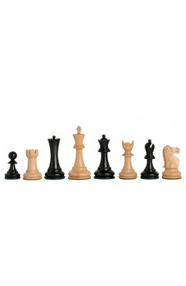 "The Capablanca Chess Edition - Reykjavik II Series Chess Pieces - 3.75"" King"
