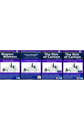 A Magnum of Magnus - 4 DVDs - Chess Lecture