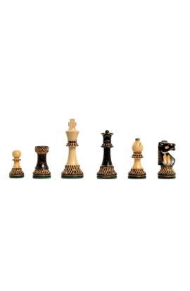 """The Burnt Club Series Chess Pieces - 3.75"""" King"""