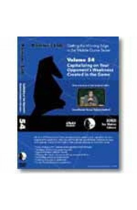 E-DVD ROMAN'S LAB - VOLUME 54 - Capitalizing on Your Opponent's Weakness Created in the Game
