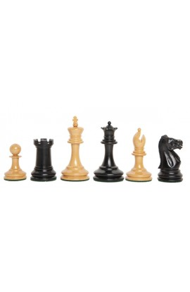 "The Library Collection - The Lasker Series Luxury Chess Pieces - 2.875"" King"