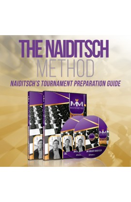 E-DVD - MASTER METHOD - The Naiditsch Method - GM Arkadij Naiditsch - Over 13 hours of Content!