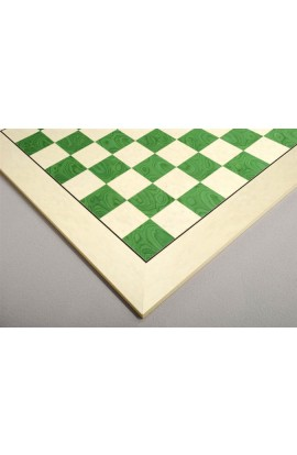 Bird's Eye Maple and Greenwood Standard Traditional Chess Board