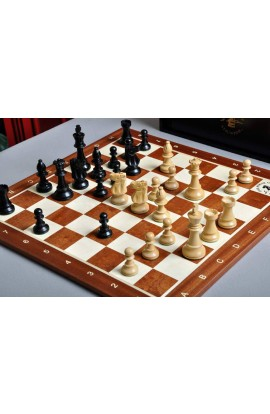 The Club Series Chess Set, Box, & Board Combination