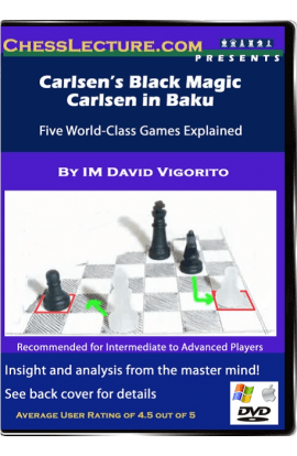 Carlsen's Black Magic Carlsen in Baku Front