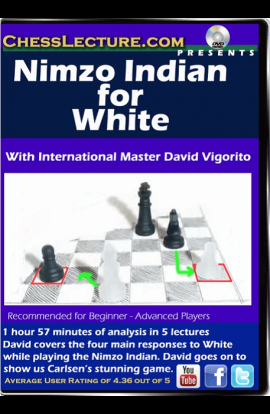 Nimzo Indian for White - Chess Lecture - Volume 154