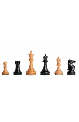 "LIBRARY Reykjavik Series Chess Pieces - 3.25"" King"