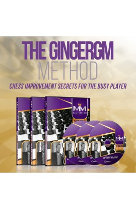 E-DVD - MASTER METHOD - The GingerGM Method - GM Simon Williams - Over 15 hours of Content!