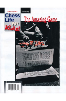 CLEARANCE - Chess Life For Kids Magazine - February 2015 Issue