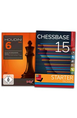 Houdini 6 Pro and ChessBase 15 Starter - Bundle