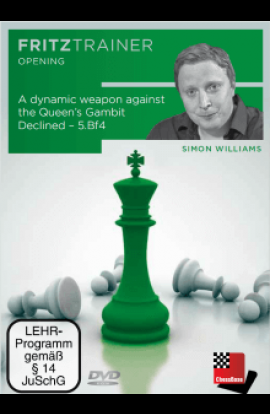 A Dynamic Weapon Against the Queen's Gambit Decline - 5. bf4 - Simon Williams