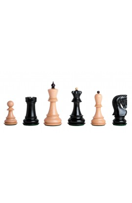 """The Zagreb '59 Series Chess Pieces - 3.875"""" King - LACQUERED"""