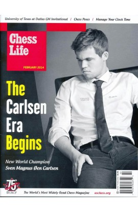 CLEARANCE - Chess Life Magazine - February 2014 Issue - FEATURING WORLD CHAMPION MAGNUS CARLSEN