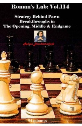 ROMAN'S LAB - VOLUME 114 - Strategy Behind Pawn Breakthroughs in The Opening, Middle & Endgame