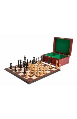 """The 6"""" St. Petersburg Series Chess Set, Box, & Board Combination"""