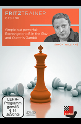 Simple But Powerful - Exchange on d5 in the Slav and Queen's Gambit - Simon Williams