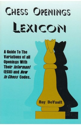 CLEARANCE - Chess Openings Lexicon