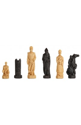 The Crusades Chess Pieces