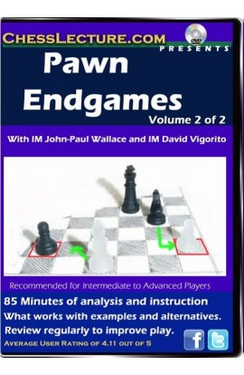 Pawn Endgames - 2 DVDs - Chess Lecture - Volume 47