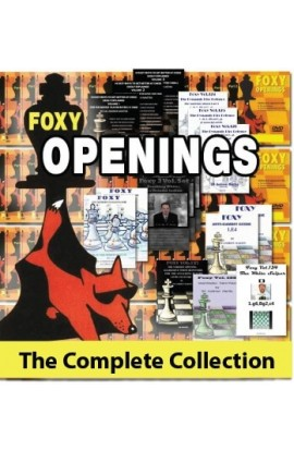 The Complete Foxy Openings on DVD - VOLUMES 1-187 PLUS KASPAROV AND KARPOV! - 9 DVDs