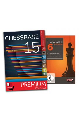Houdini 6 Standard and ChessBase 15 Premium - Bundle
