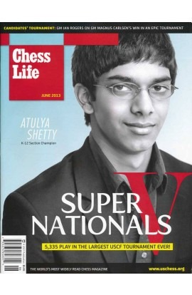 CLEARANCE - Chess Life Magazine - June 2013 Issue