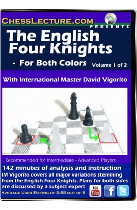 The English Four Knights (2 DVDS) - Chess Lecture - Volume 73