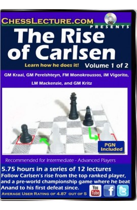 The Rise of Carlsen - 2 DVDs - Chess Lecture - Volume 100