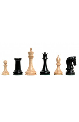 "The 2018 Exotique Collection® - Imperial Collector Series Luxury Chess Pieces - 4.4"" King - Genuine Ebony"