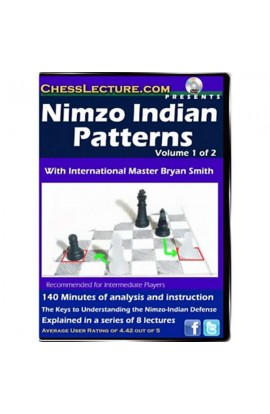 Nimzo-Indian Patterns - 2 DVDs - Chess Lecture - Volume 46