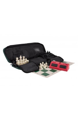 Deluxe ZMart Fun II Tournament Chess Set Combination