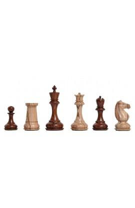 "The Challenger Series Luxury Chess Pieces - 4.4"" King - Rosewood"