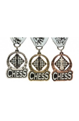 Spinning Chess Medals