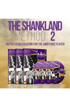 E-DVD - MASTER METHOD - The Shankland Method 2 - GM Sam Shankland - Over 15 hours of Content!