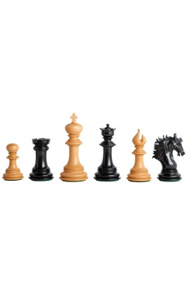 "The Bolzano Series Artisan Chess Pieces - 4.4"" King"
