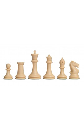 "The Hastings Series Plastic Chess Pieces - 3.875"" King"