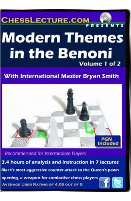 Modern Themes in the Benoni - 2 DVDs - Chess Lecture - Volume 66