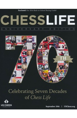 CLEARANCE - Chess Life Magazine - September 2016 Issue