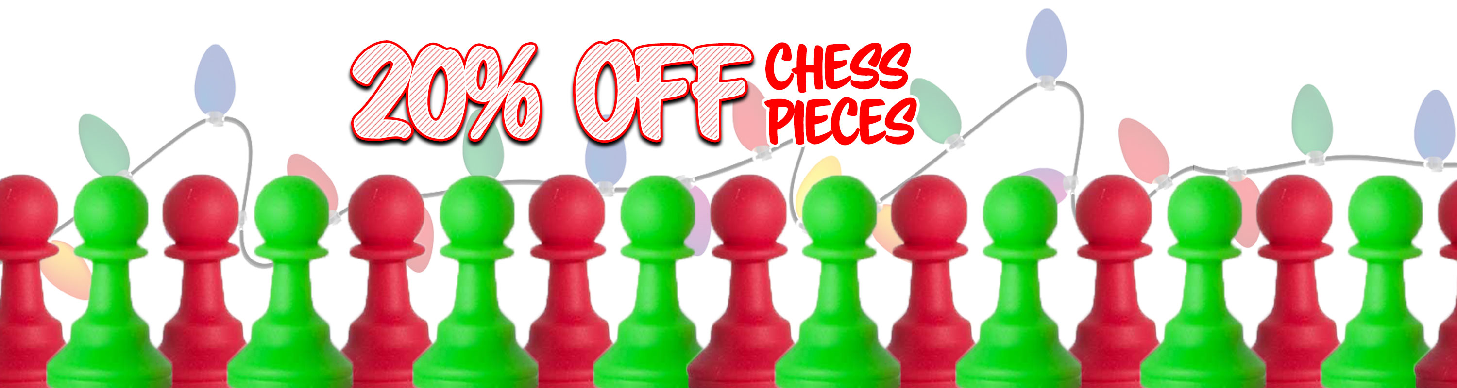 Chess Pieces - 20% Off