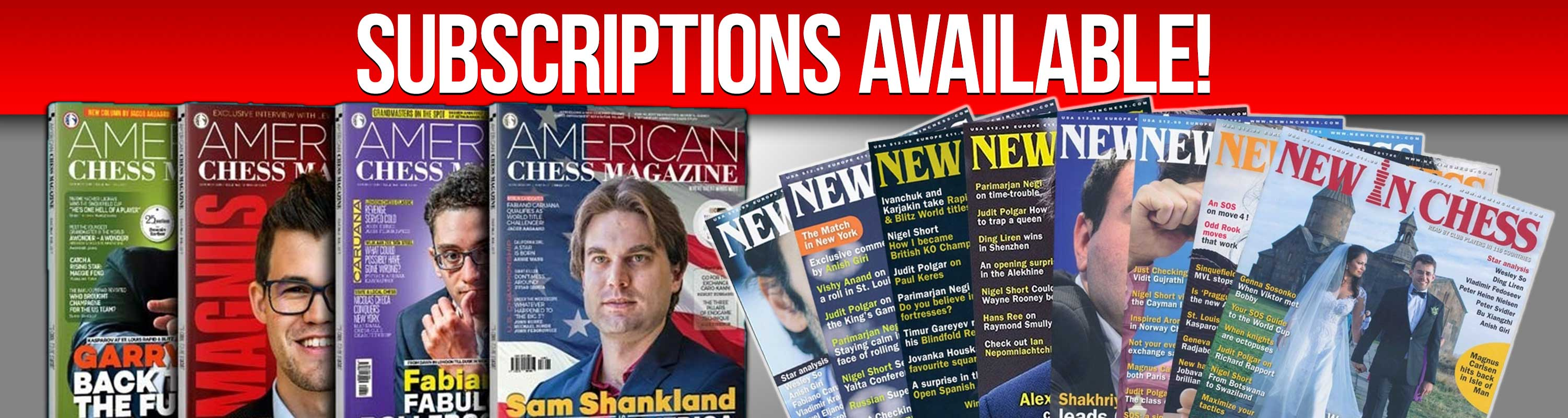 Subscriptions Available!
