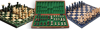 European Chess Set