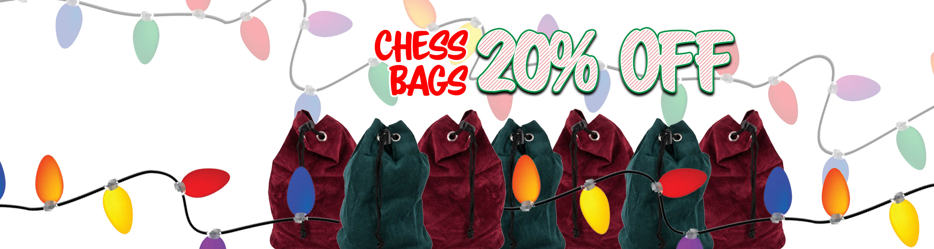 Chess Bags - 20% Off