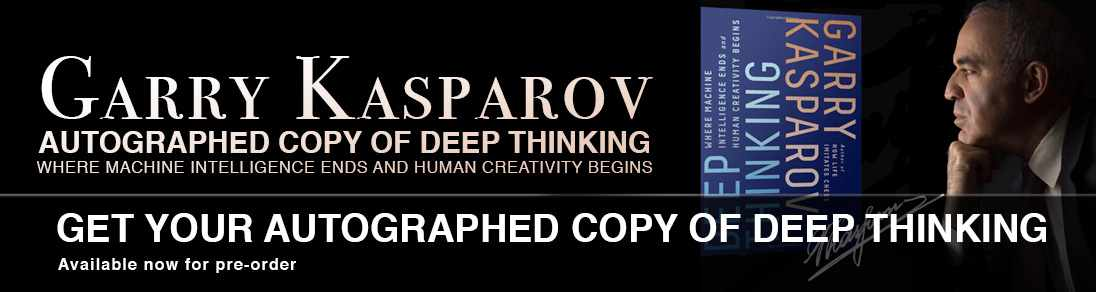 Garry Kasparov Autographed Copy of Deep Thinking