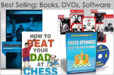 Best Selling Chess Books, Software & DVDs