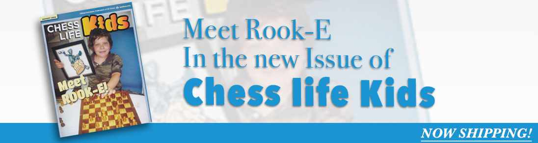 Chess Life for kids august 2016