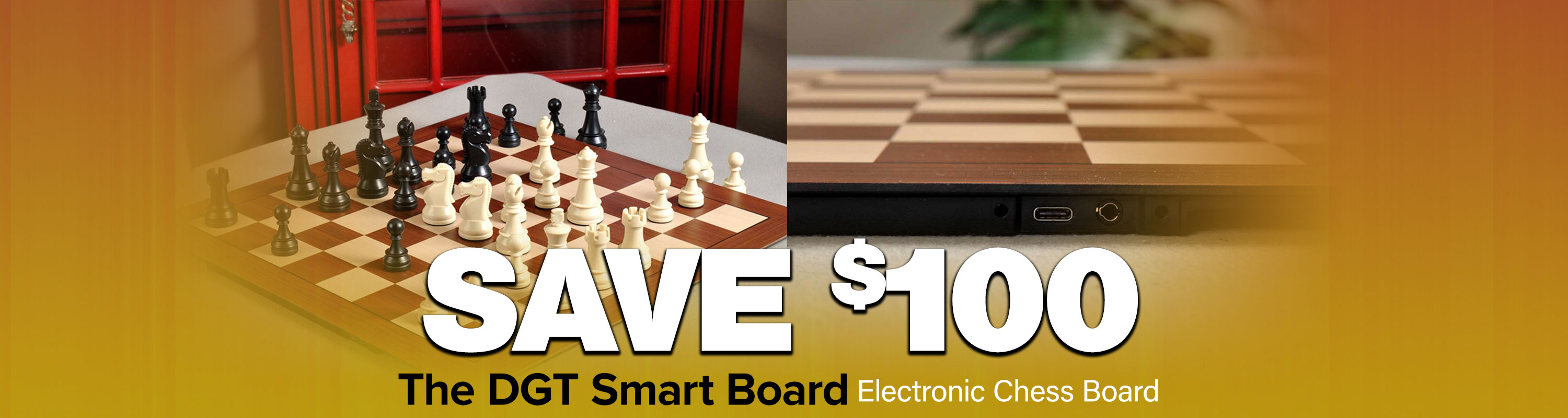 SAVE $100 - DGT Smart Board